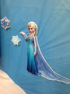 アナと雪の女王 レジ